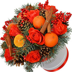 """Композиція в коробці """"До 31 грудня!"""""""