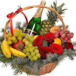 """Корзина """"Накануне Нового года!"""""""