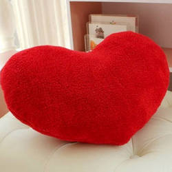 "Pillow in a heart shape ""Beloved!"""