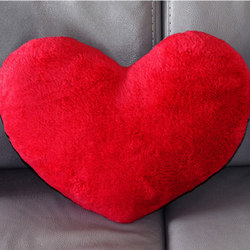 "Pillow in a heart shape ""Valentine!"""
