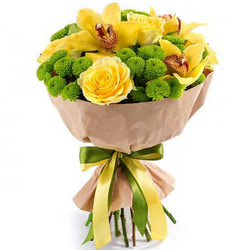 "Bouquet ""Sunny mood"""