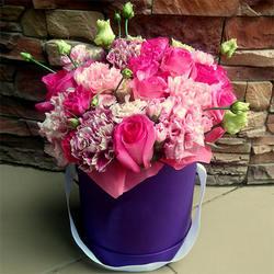"""Цветы в коробке """"Для самой лучшей!"""""""