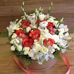 """Flowers in box """"Holliday"""""""