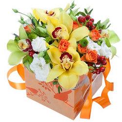 """Квіти в коробці """"Фантазія"""""""