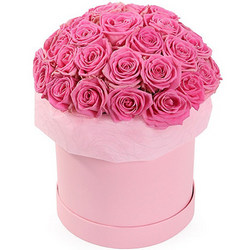 """Flowers in box """"Fashionable style"""""""