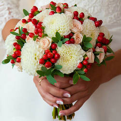 "Bridal bouquet ""Feeling of attraction"""