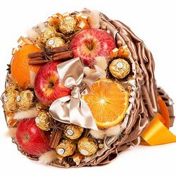 "Bouquet of sweets ""Royal Present"""