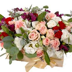 "Flowers in a box ""Luxury style"""