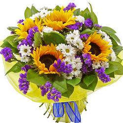 """Bright bouquet """"Sunny"""""""