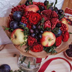 "Fruit bouquet ""Autumn Gifts"""