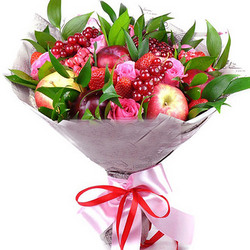 "Fruit bouquet ""Sweet kiss"""