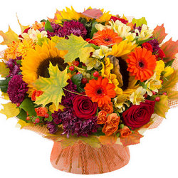 "Autumn bouquet ""Autumn rendezvous"""