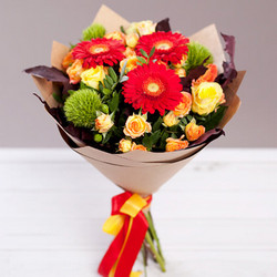 "Autumn bouquet ""Bright person"""