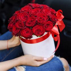 """Цветы в коробке """"I Love You!"""""""