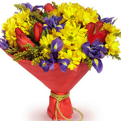 "Bouquet ""Congratulation from the heart!"""