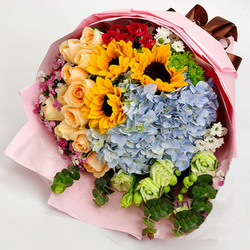 "Bouquet ""Summer mix"""