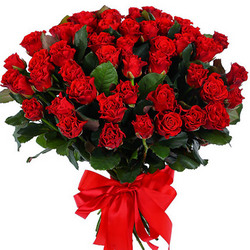 "Bouquet ""51 red roses El Toro"""