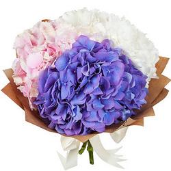 """Delicate bouquet """"Cotton candy"""""""