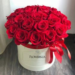"Цветы в коробке ""Love You!!!"""