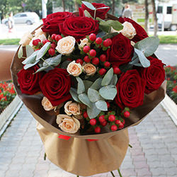 "Bouquet ""Coasts of love!"""