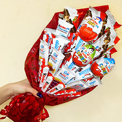 "Bouquet of sweets ""Happy childhood!"""