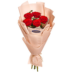 "Bouquet ""5 red roses"""