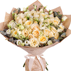 """Bouquet """"She will smile!"""""""