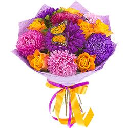 """Bouquet """"To the first teacher!"""""""