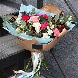 "Bouquet ""To dear leader!"""