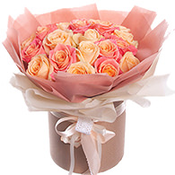 """Flowers in a box """"Glamorous Present"""""""