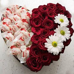 """Квіти в коробці """"Щастя в очах!"""""""