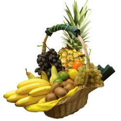 "Fruit basket ""Tropics"""