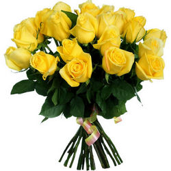 "Bouquet of yellow roses ""Fairy Tale"""