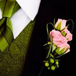 "Boutonniere ""Pearl"""