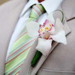 "Boutonniere ""Sophistication"""