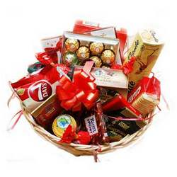 "Gift basket ""Tasty holiday"""