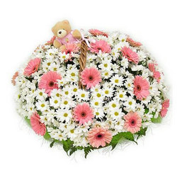 "Basket ""Camomile field"""