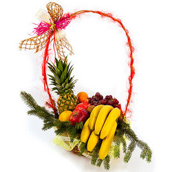 "Fruit basket ""New Year"""