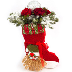 Bouquet from Santa Claus