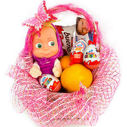 "Basket ""Masha's holiday"""