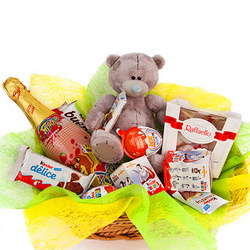 "Basket ""Children's Holiday"""